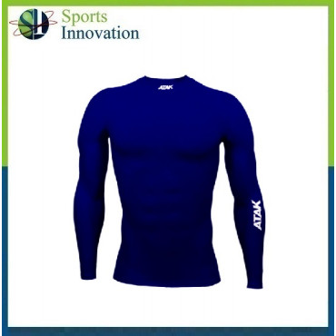 ATAK Adult Compressions Long Sleeve Top - Navy
