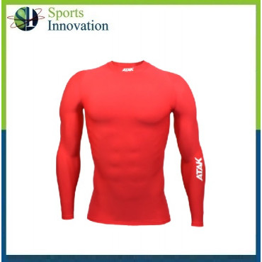 ATAK Adult Compressions Long Sleeve Top - Red