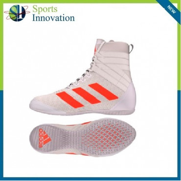 Adidas Adults Boxing Boots Speedex 18 Boost  - White