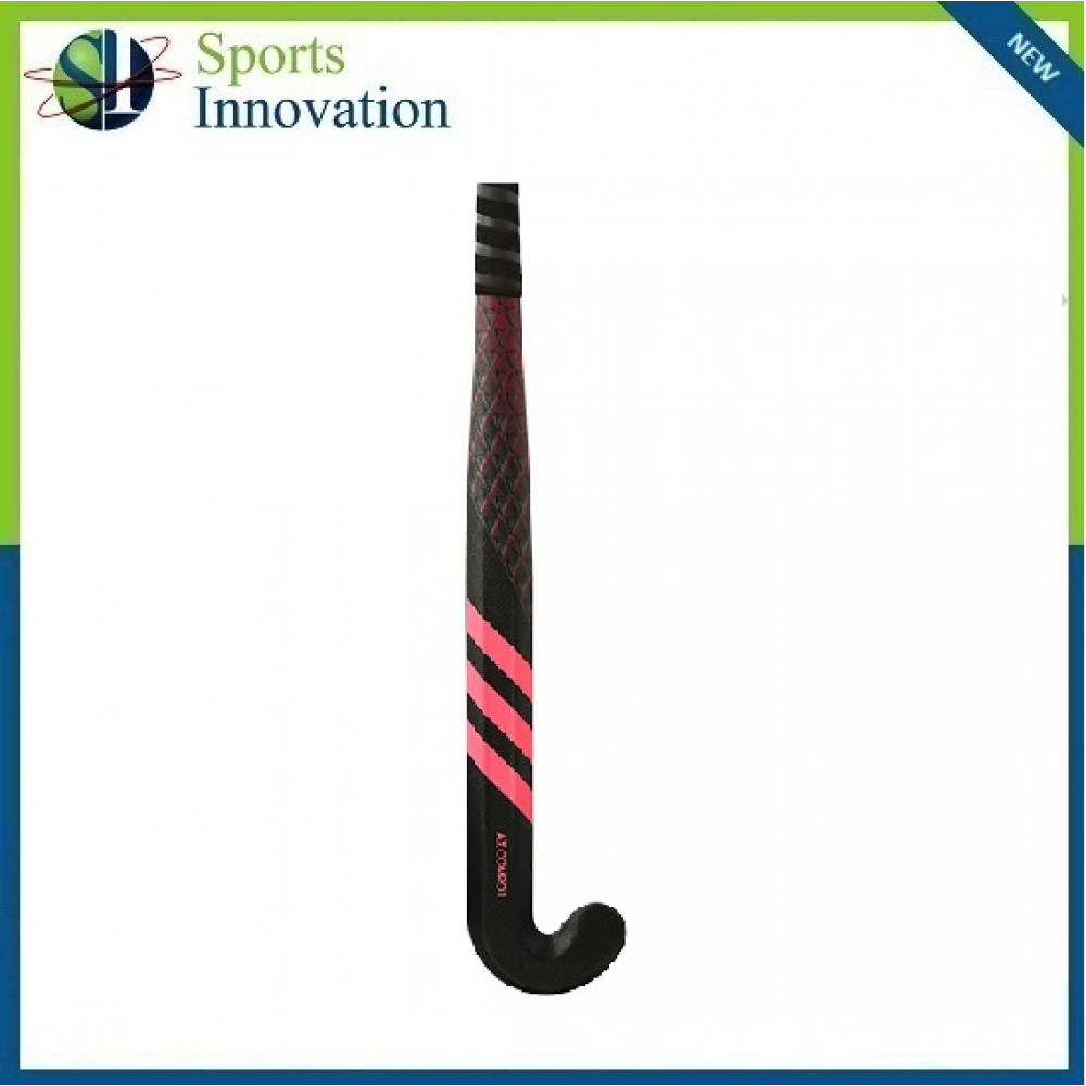 Adidas AX Compo 1 Carbon Composite Hockey Stick with Extra Low Bow - Black