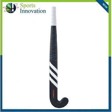 Adidas LX Compo 2 Carbon Composite Hockey Stick with Mid Bow - Black White