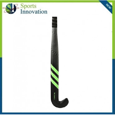 Adidas TX Compo 1 Carbon Composite Hockey Stick 3D Head Shape with Low Bow - Black Green