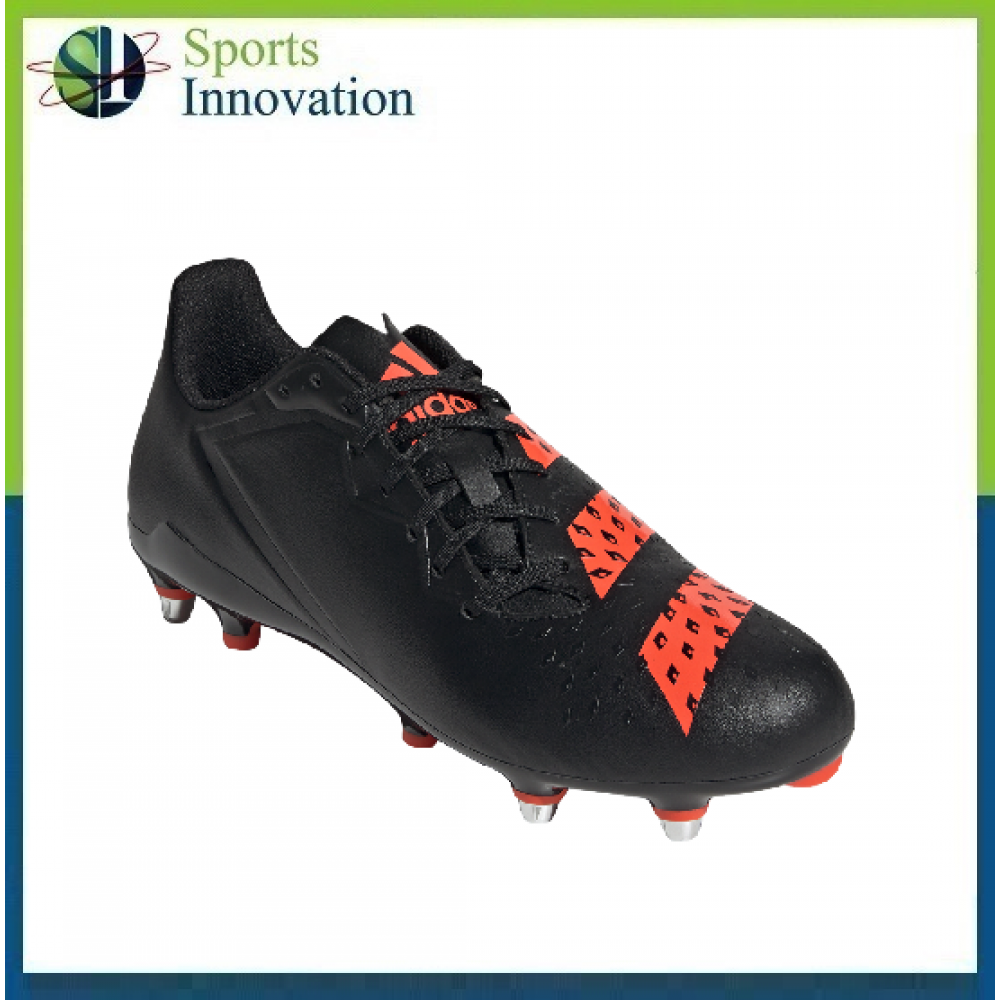 Adidas Rugby Malice Soft Ground Boots - Black