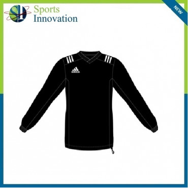 Adidas Adult Rugby Contact Warm Up Top-Black