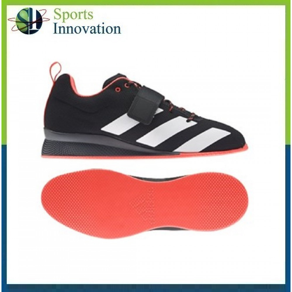 Adipower Weightlifting II Shoes - Black White Red