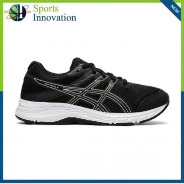 Asics AW2021 Kids Contend 6 GS Running Trainers - Black/White