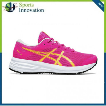 Asics AW2020 Kids Patriot 12 GS Running Trainers - Pink Glo/ White