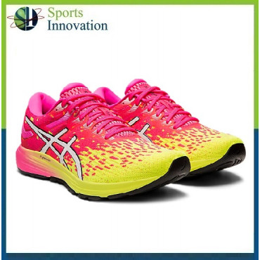 Asics Dynaflyte 4 Ladies Running Trainers - Pink YellowRunning Trainers - Pink Yellow