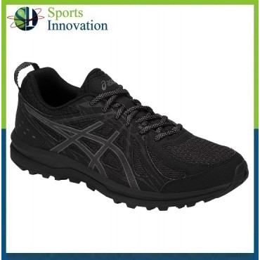Asics Frequent Trail Ladies Running Trainers - Black