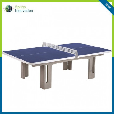 Butterfly B2000 Concrete Rounded Corners 30RO Outdoor Table Tennis Table - BLUE