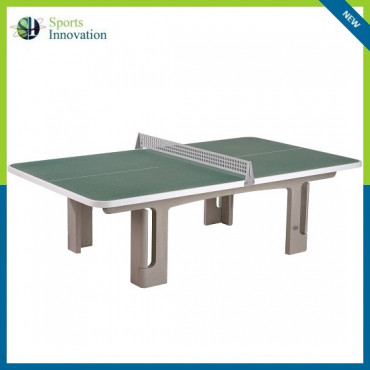 Butterfly B2000 Concrete Rounded Corners 30RO Outdoor Table Tennis Table - Granite Green