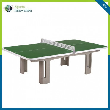 Butterfly B2000 Concrete Rounded Corners 30RO Outdoor Table Tennis Table - GREEN