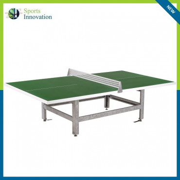 Butterfly B2000 Standard Polymer Concrete/Steel 30SQ Outdoor Table Tennis Table - GREEN