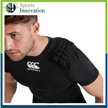Canterbury Rugby Core Protection Vest Shoulder Pads Tackle Top