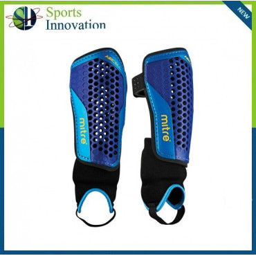 Mitre Aircell Carbon Football Shinguard +Ankle protection