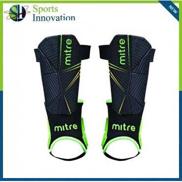 Mitre Delta Football Shinguard + Ankle protection