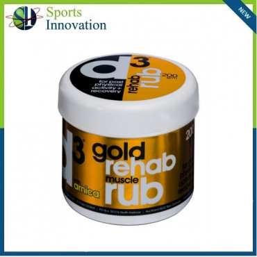 D3 Gold Sports Muscle Rub 200G