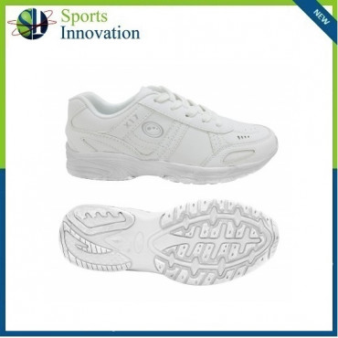 Optimum Lace up Trainers - White