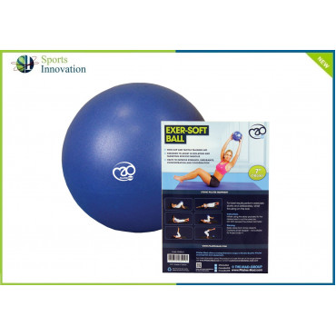 Fitness Mad 7'' Exer-Soft Ball - Blue