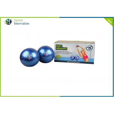 Fitness Mad Soft Pilates Weights Pair of 0.5KG