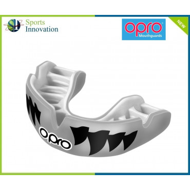 """OPRO Gumshield Power-Fit Mouthguard - ADULT - """"AGGRESSION"""""""