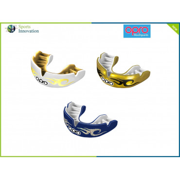 """OPRO Gumshield Power-Fit Mouthguard - ADULT - """"BLING"""""""