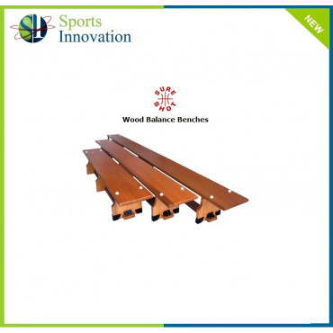 Sure Shot Gymnastic Wooden Balance Benches 1.8mtrs