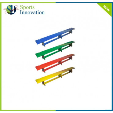 Sure Shot Gymnastic Coloured Balance Benches 1.8mtrs