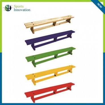 Sure Shot Gymnastic Coloured Lite Balance Benches 2.0mtrs