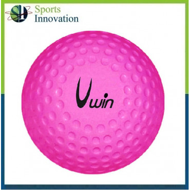 Uwin Dimple Hockey Ball - Pink - Pack Options