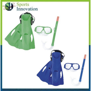 Hydro Freestyle Snorkel and Fins Swimming Set