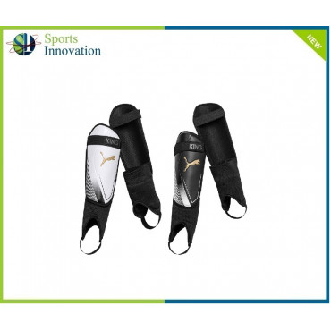 Puma King IS Shin & Ankle Guards - Black/White