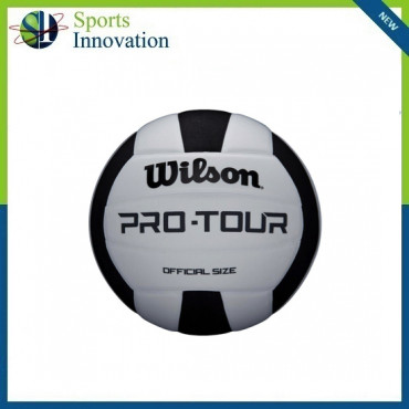 Wilson Pro Tour Volleyball - Black and White