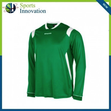 Stanno Arezzo Long Sleeve Playing Shirt - Green
