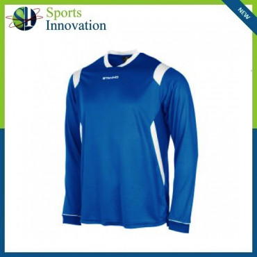 Stanno Arezzo Long Sleeve Playing Shirt - Blue