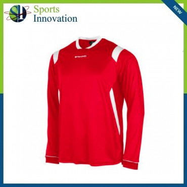 Stanno Arezzo Long Sleeve Playing Shirt - Red