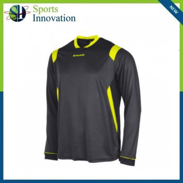 Stanno Arezzo Long Sleeve Playing Shirt - Anthracite